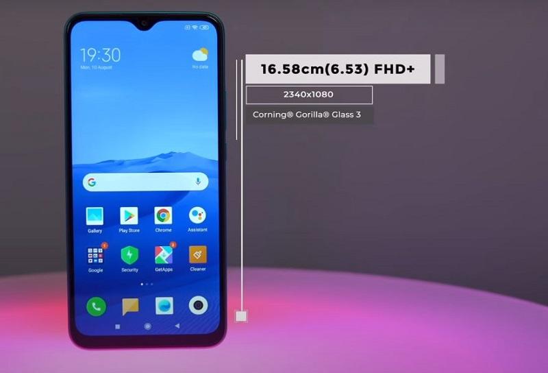 Xiaomi Redmi 9 prime Screen specs