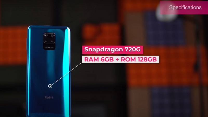 Redmi note 9s Processor and variant specs