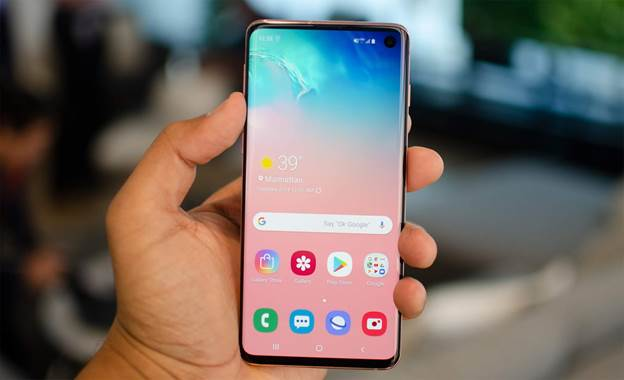 Galaxy S10 Design And Display
