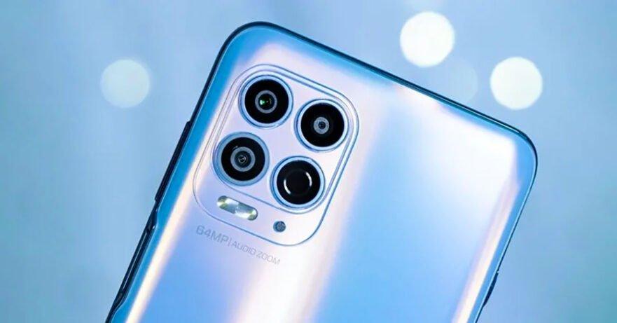 Motorola Edge S Rear camera