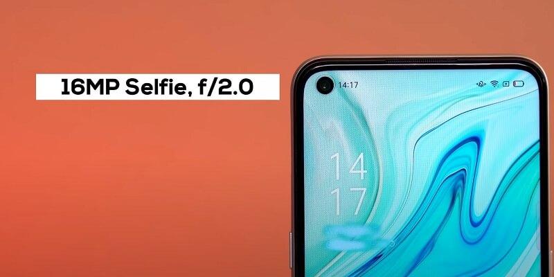 OPPO A53 Selfie Camera