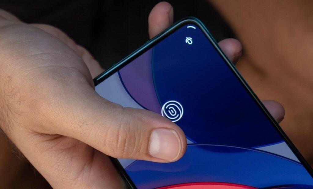 OnePlus 8T Fingerprint sensor