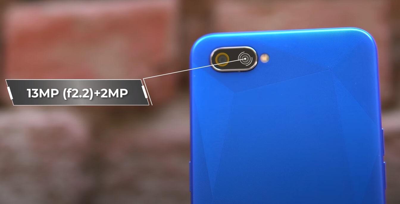 Realme C2 Rear Camera