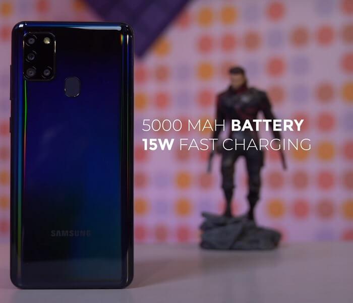 Galaxy A21s Battery