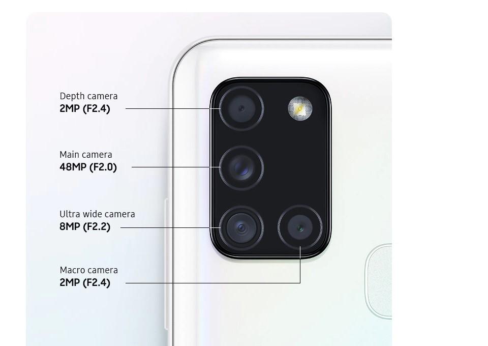 Galaxy A21s Back Camera