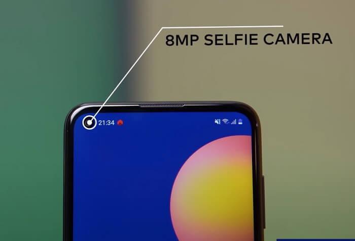 Samsung Galaxy M11 Selfie Camera