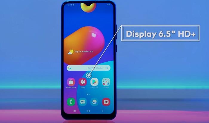 Samsung Galaxy Mo2s Smartphone Display