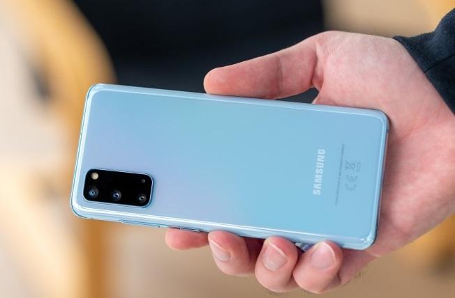 Samsung Galaxy S20 Back Design