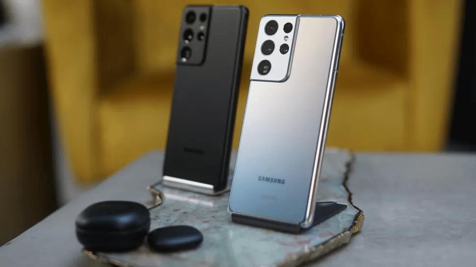 Samsung Galaxy S21 Ultra Design and Display