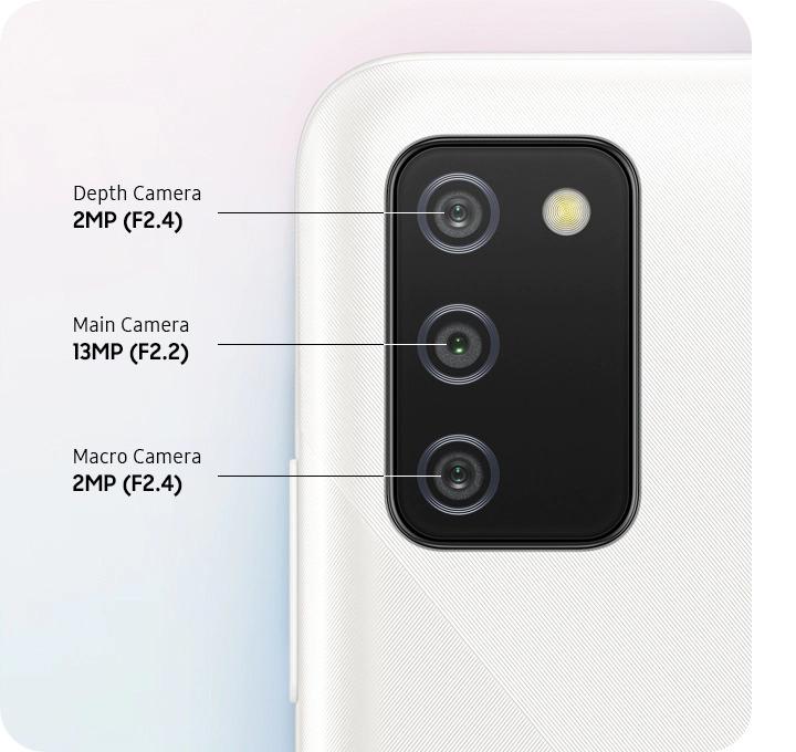 Samsung Galaxy A02s camera