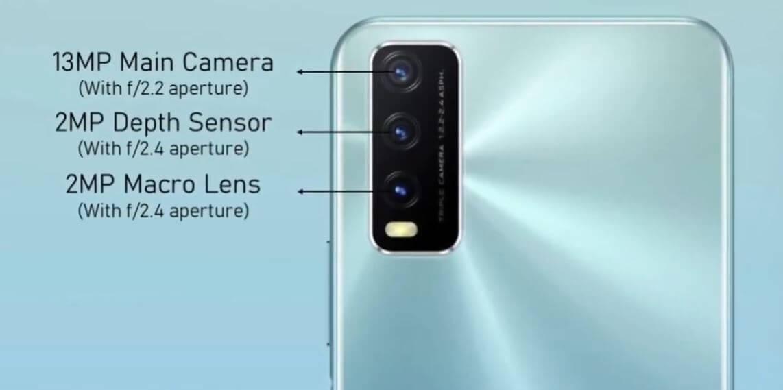 Vivo Y20G Camera