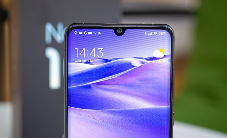 Xiaomi Mi Note 10 lite Front Camera