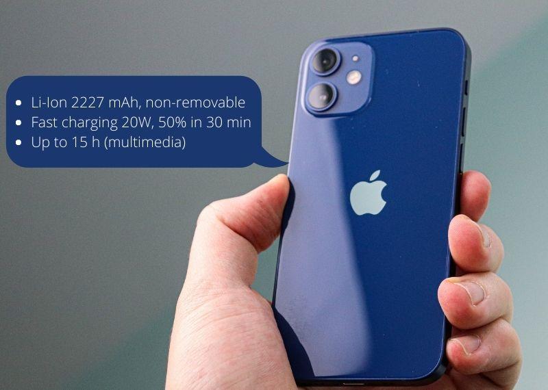 iPhone 12 mini battery