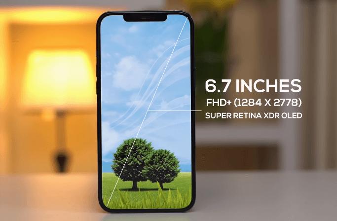 iphone 12 pro max screen