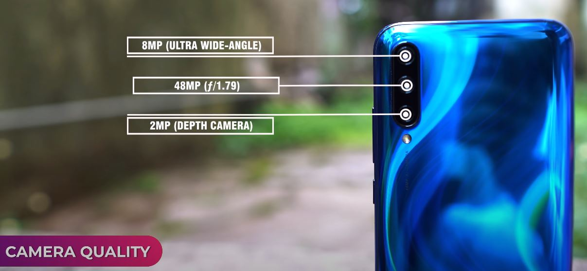 Back Camera Specifications of Xiaomi Mi A3 Phone