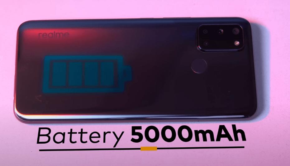 realme 7i battery