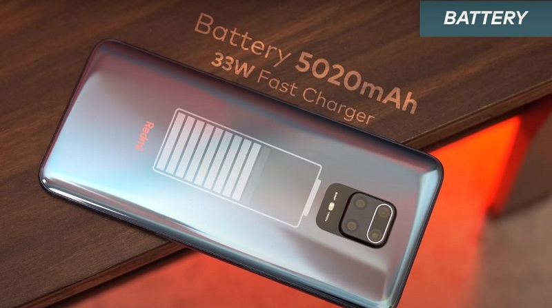 Redmi Note 9 Pro Max Battery specifications and charging