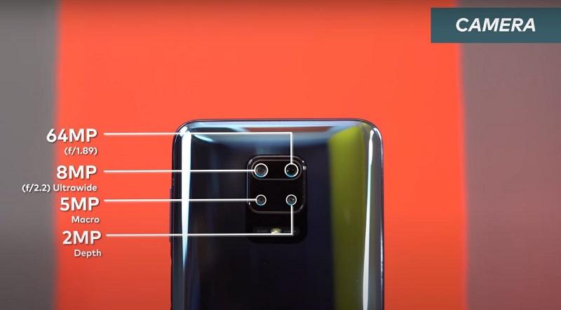 Redmi Note 9 Pro Max Back Camera specifications