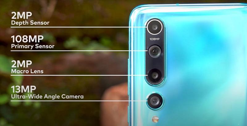 Xiaomi Mi 10 Back Camera Specifications