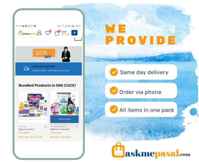 Askmepasal Ecommerce Services