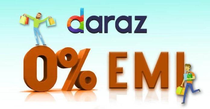 Daraz Zero Percent EMI