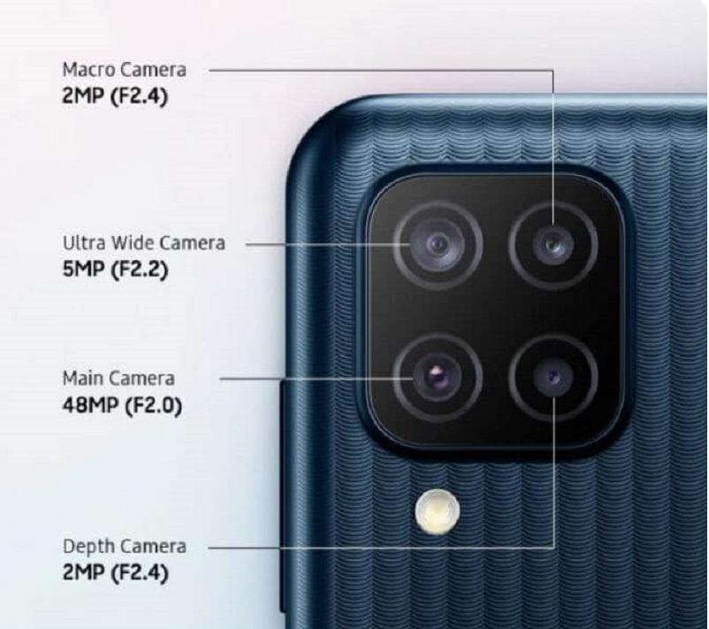 Samsung Galaxy M12 Rear Camera
