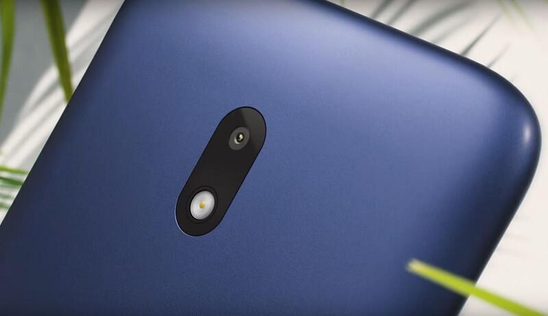 Nokia C1 Plus Rear Camera