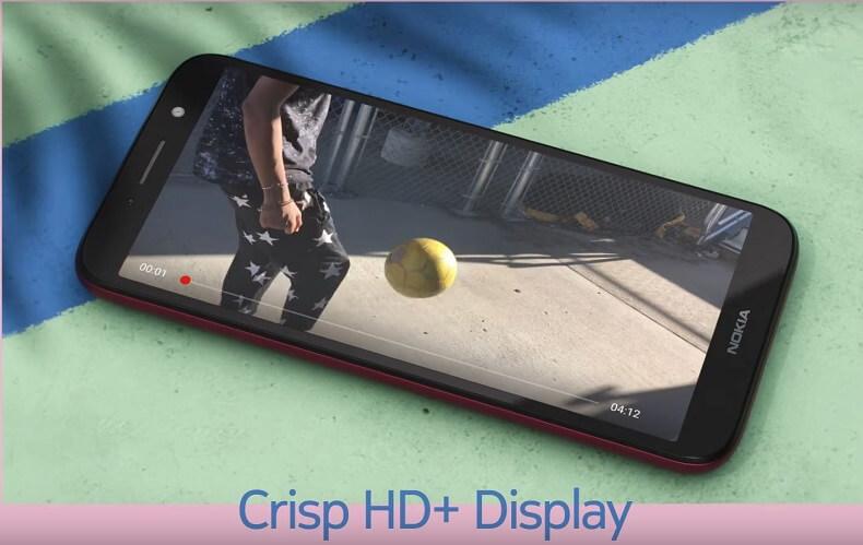 Nokia C1 Plus Display