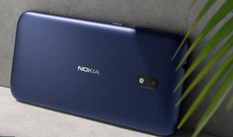 Nokia C1 Plus Design