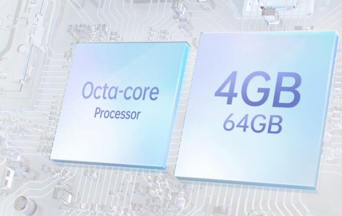 OPPO A15s Processor