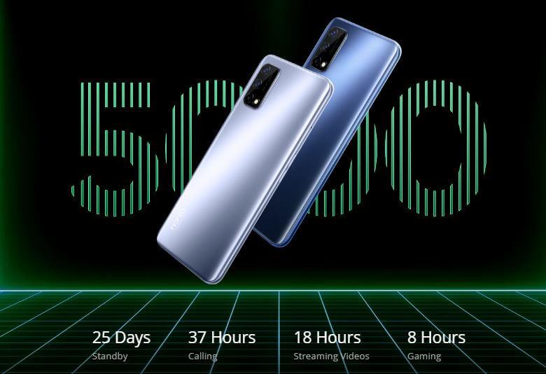 Realme Narzo 30 Pro 5G Battery