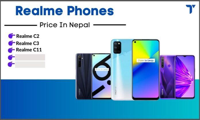 Realme mobile phones in Nepal