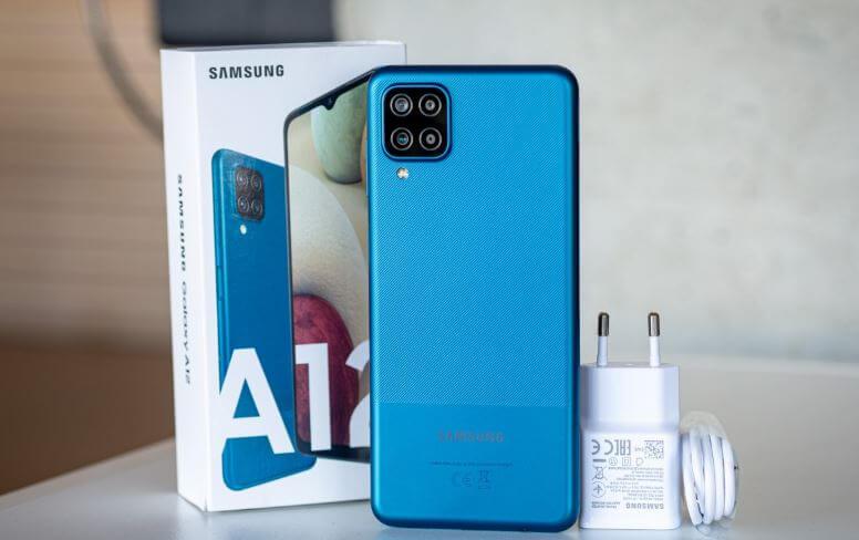 Samsung Galaxy A12 Design and Build Quality