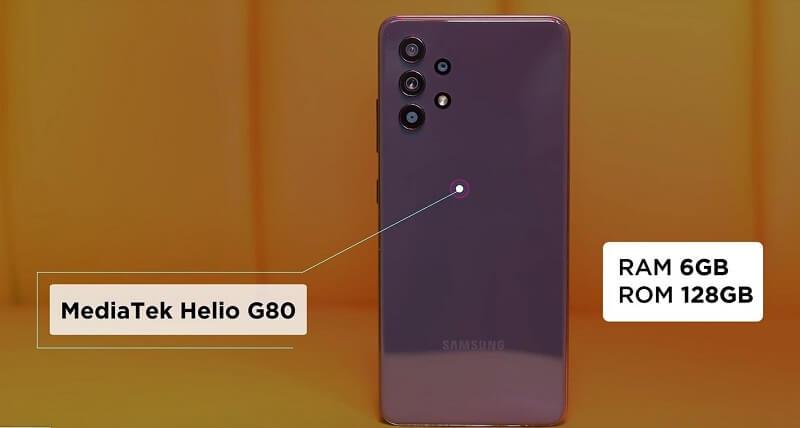 Samsung Galaxy A32 4G Processor