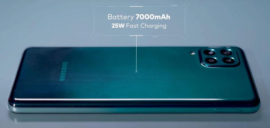 Samsung Galaxy F62 Battery