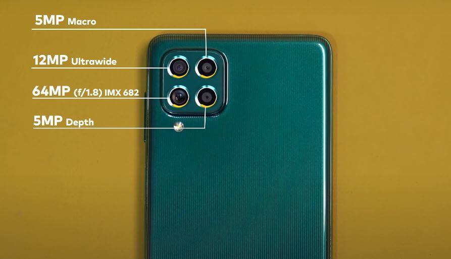 Samsung Galaxy F62 Camera