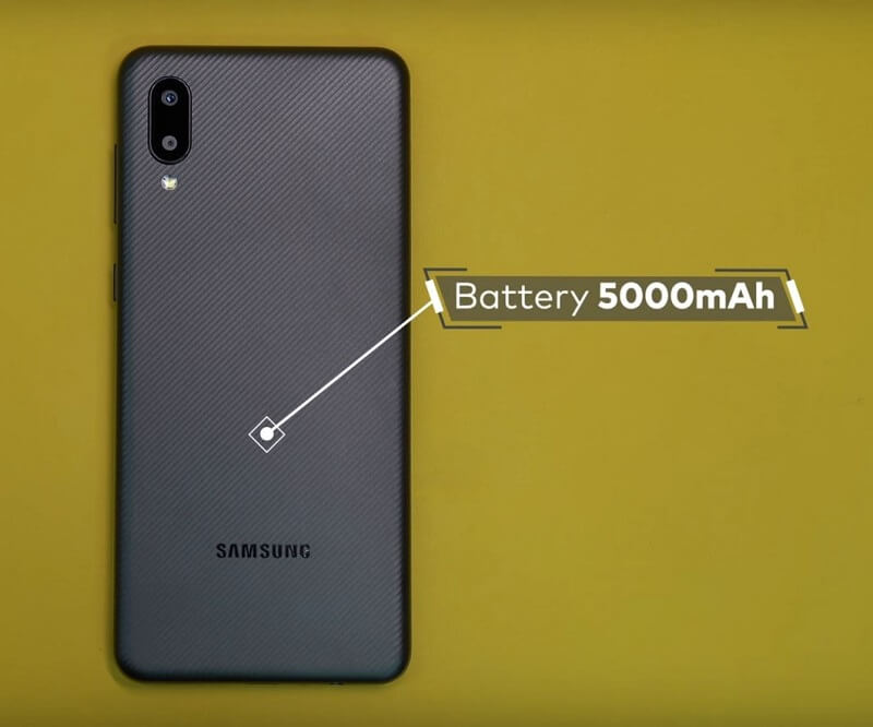 Samsung Galaxy M02 Battery