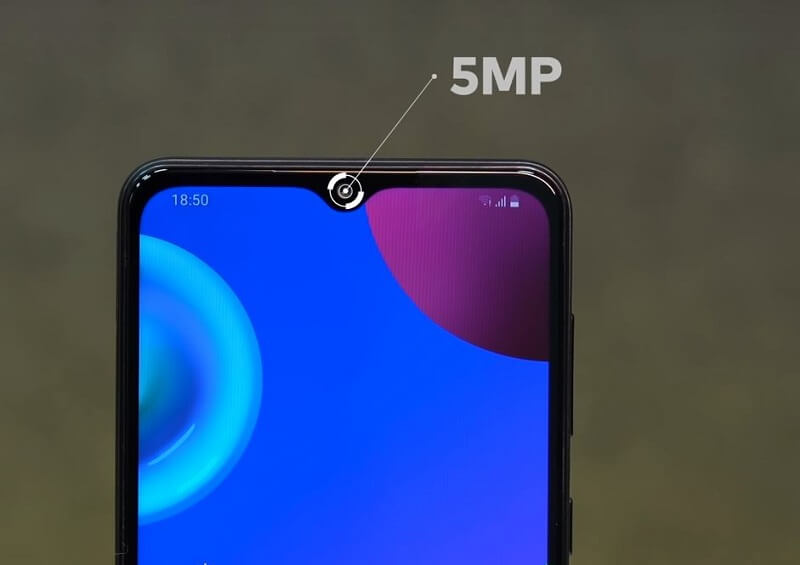 Samsung Galaxy M02 Selfie Camera