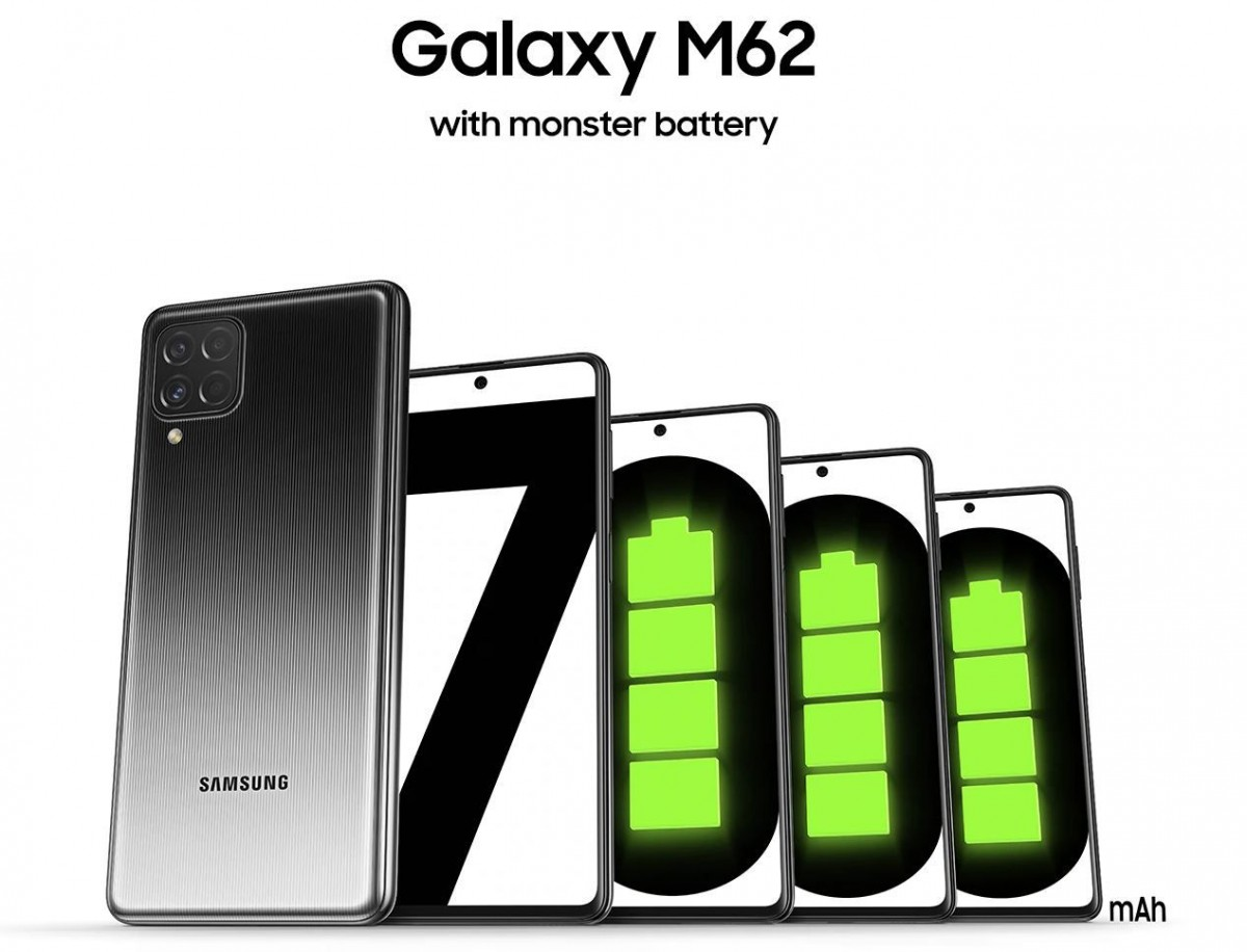 Samsung Galaxy M62 Battery