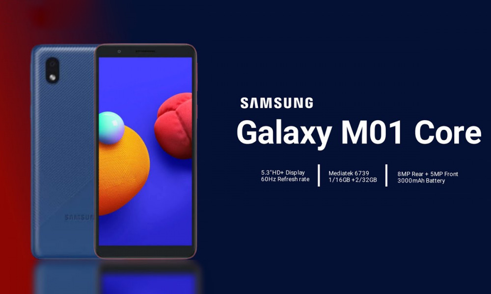 Galaxy M01 Core Price In Nepal
