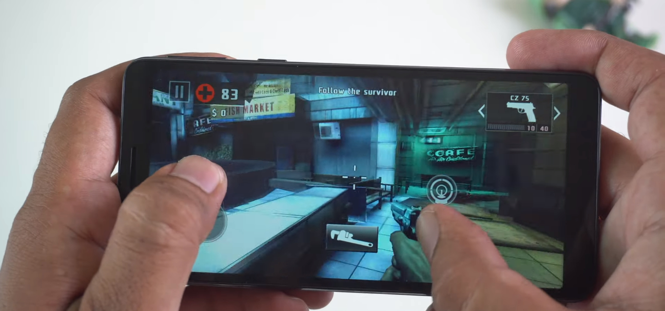 Samsung Galaxy M01 gaming performance