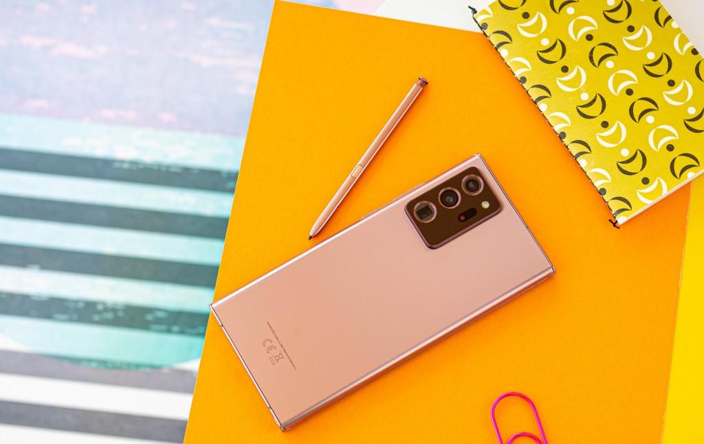 Samsung Galaxy Note 20 Ultra Design