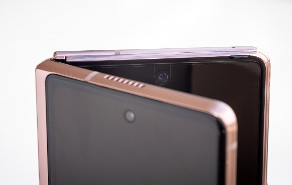Samsung galaxy z fold 2 front camera