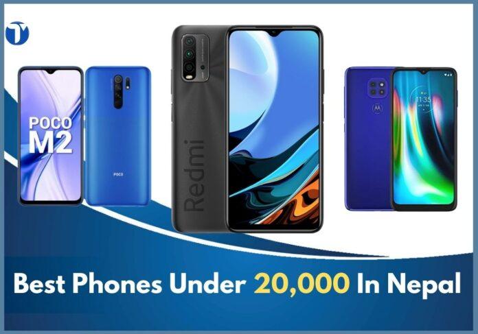 smartphone under 20000 In nepal