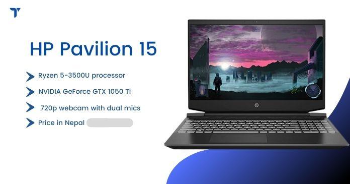 HP Pavilion 15 price in nepal
