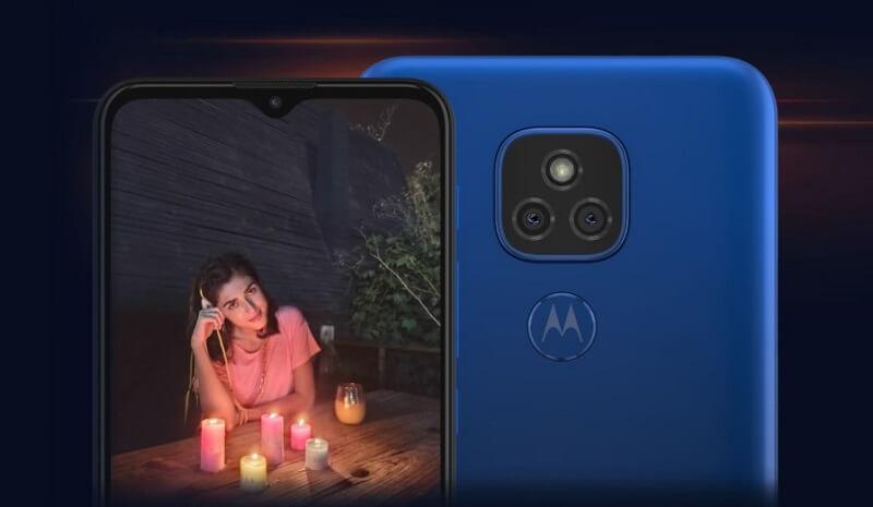 Motorola Moto E7 Plus Cameras