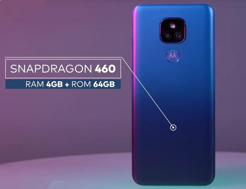 Motorola Moto E7 Plus Performance