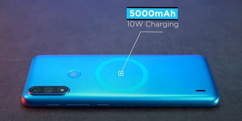 Motorola E7 Power Battery