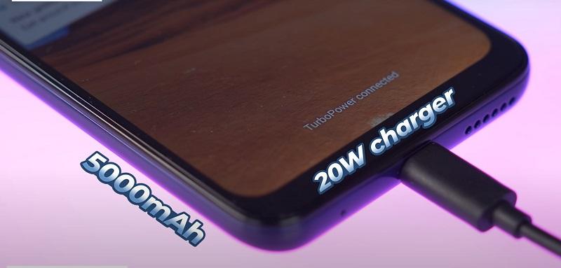 Motorola Moto G9 Play Batter and Charging