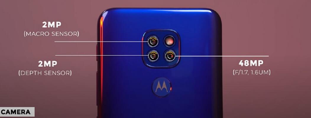 Motorola Moto G9 Play Rear Camera